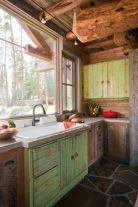 Amazing rustic mountain farmhouse decorating ideas (21)