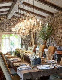 Amazing rustic mountain farmhouse decorating ideas (38)