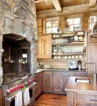 Amazing rustic mountain farmhouse decorating ideas (4)