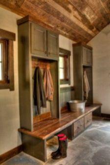 Amazing rustic mountain farmhouse decorating ideas (8)