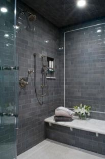 Awesome bathroom tile shower design ideas (26)