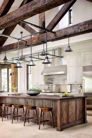 Beautiful rustic kitchen cabinet ideas (12)