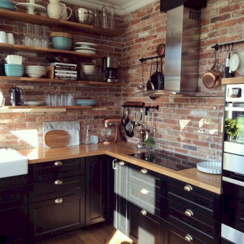 Beautiful rustic kitchen cabinet ideas (18)