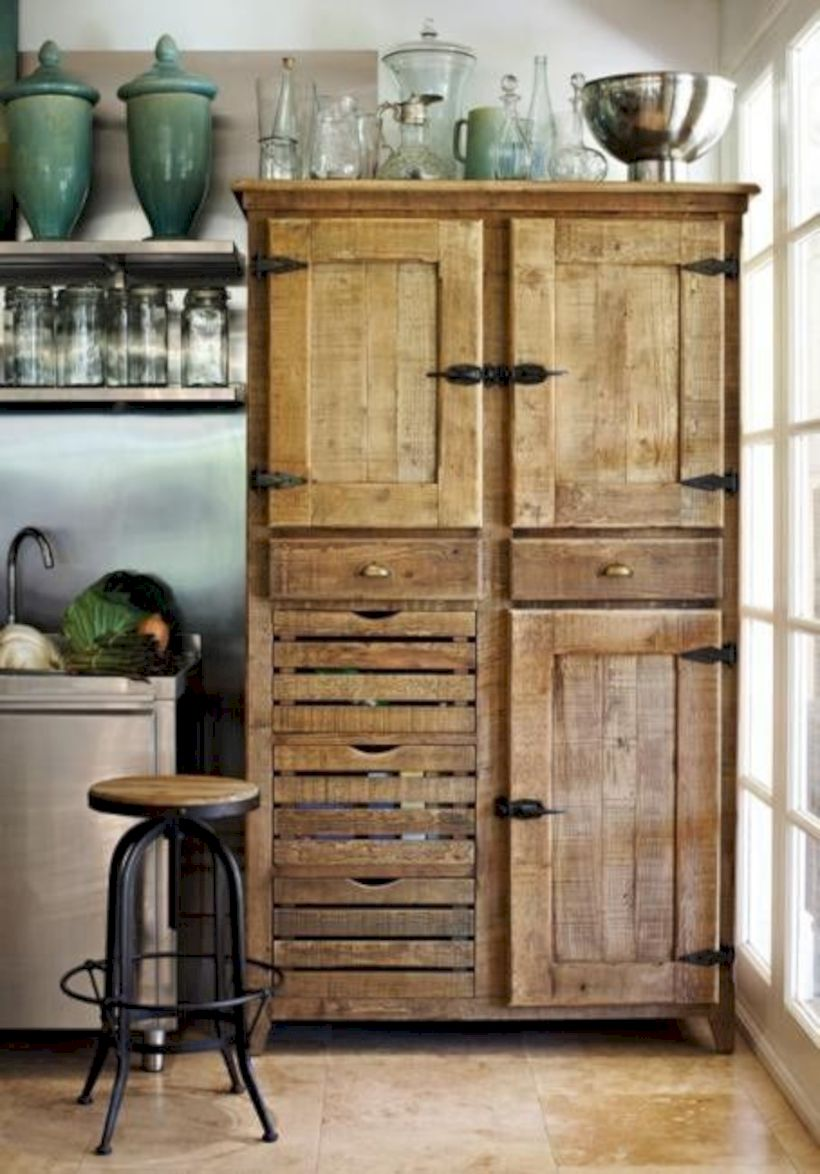 Beautiful rustic kitchen cabinet ideas (2)
