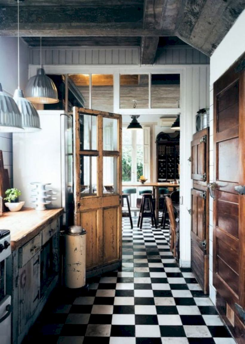 Beautiful rustic kitchen cabinet ideas (29)