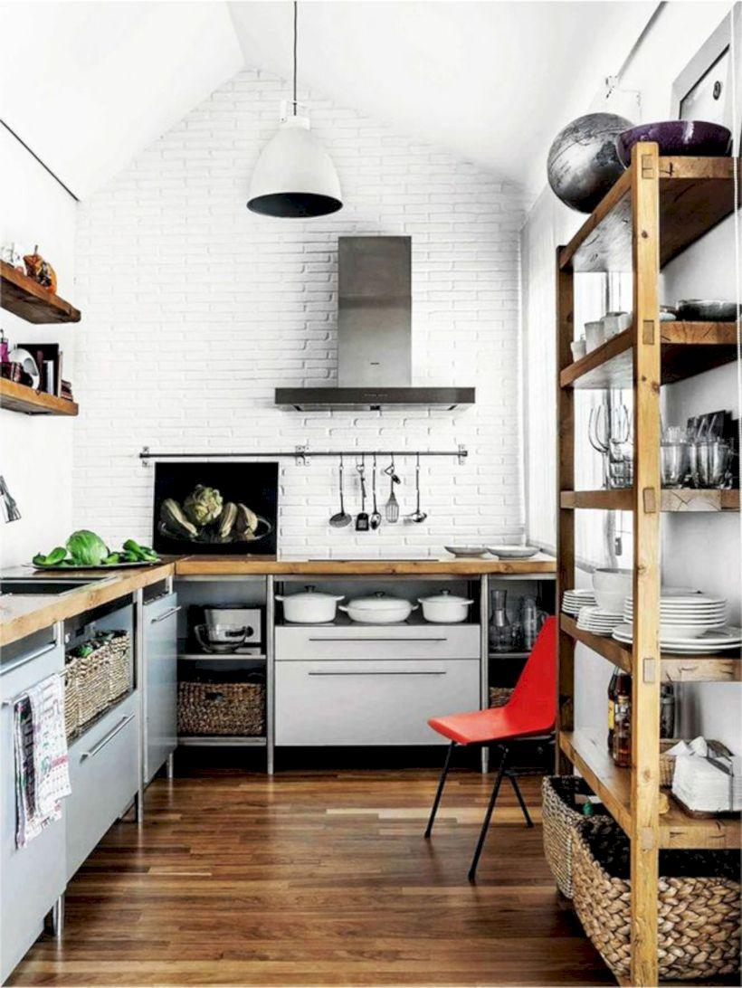 Beautiful rustic kitchen cabinet ideas (34)