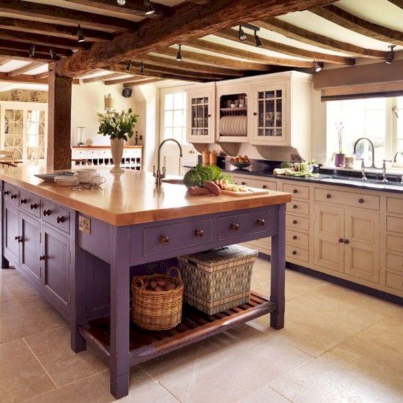 Kitchen Cabinet Ideas 2018: 43 Beautiful Rustic Kitchen Cabinet Ideas