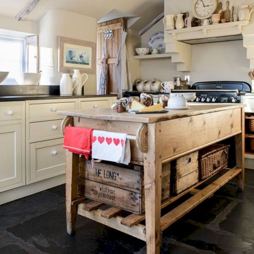 Beautiful rustic kitchen cabinet ideas (5)