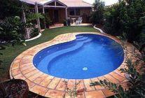 Beautiful small outdoor inground pools design ideas 32