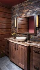 Beautiful urban farmhouse master bathroom remodel ideas (8)