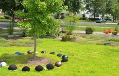 Best and beautiful tree ring planter ideas 03