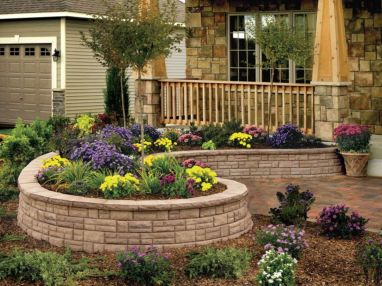 Best and beautiful tree ring planter ideas 12