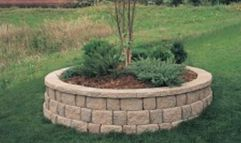 Best and beautiful tree ring planter ideas 15