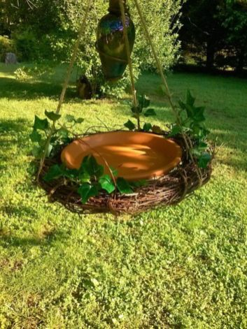 Best and beautiful tree ring planter ideas 19