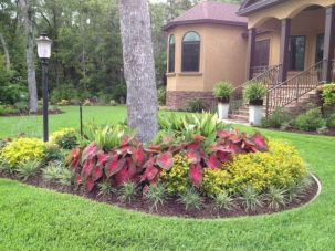 Best and beautiful tree ring planter ideas 25