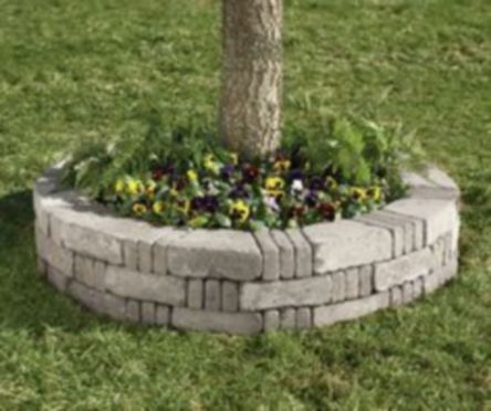 Best and beautiful tree ring planter ideas 34