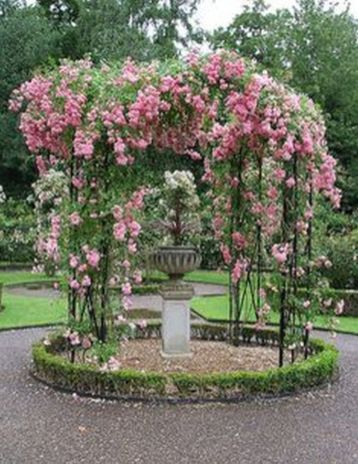 Best and beautiful tree ring planter ideas 36