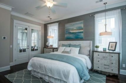 Best rustic coastal decorating ideas for simple home decor 08