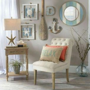 Best rustic coastal decorating ideas for simple home decor 22