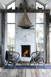 Best rustic coastal decorating ideas for simple home decor 27
