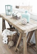 Best rustic coastal decorating ideas for simple home decor 30