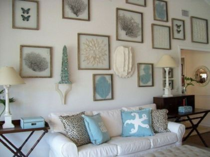 Best rustic coastal decorating ideas for simple home decor 35