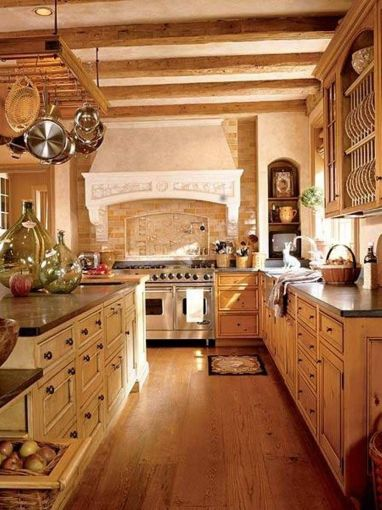 Contemporary italian rustic home décor ideas 05