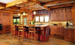 Contemporary italian rustic home décor ideas 06