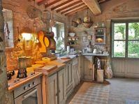 Contemporary italian rustic home décor ideas 13