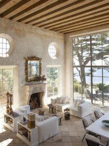 Contemporary italian rustic home décor ideas 14