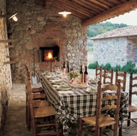 Contemporary italian rustic home décor ideas 16