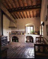 Contemporary italian rustic home décor ideas 21