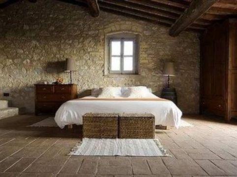 Contemporary italian rustic home décor ideas 22