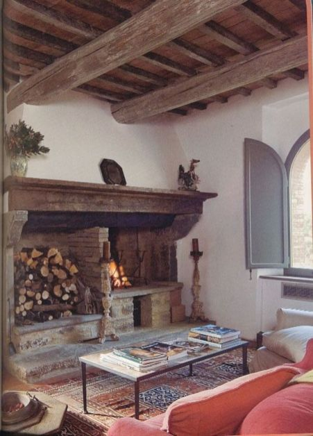 Contemporary italian rustic home décor ideas 39