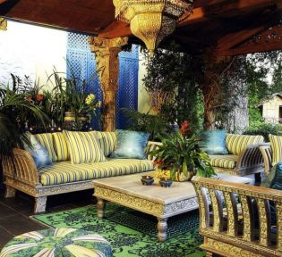 Cozy moroccan patio decor and design ideas (13)