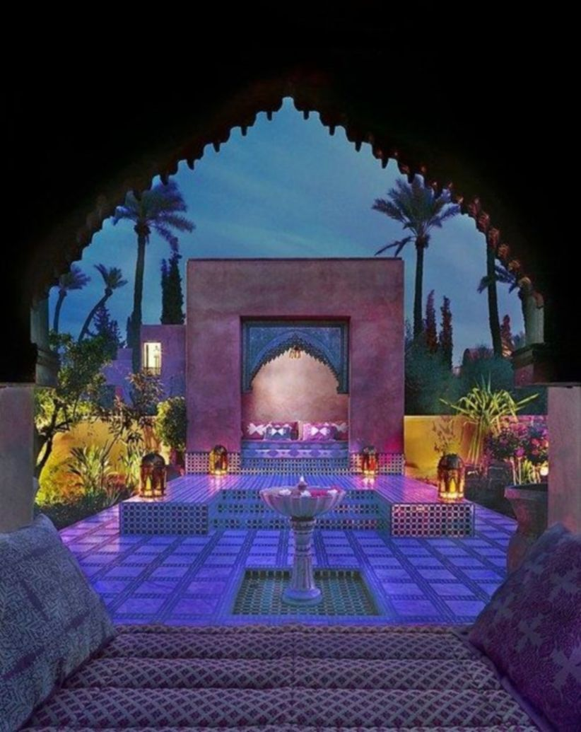 Cozy moroccan patio decor and design ideas (20)