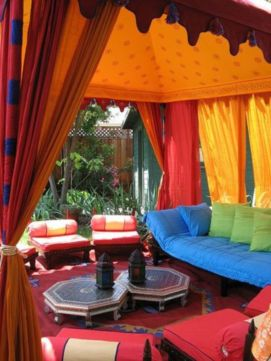 Cozy moroccan patio decor and design ideas (34)