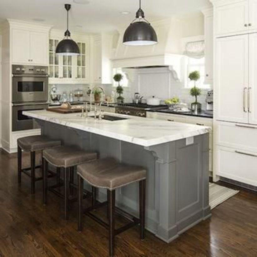 Creative kitchen islands stove top makeover ideas (17 ...