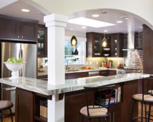 Creative kitchen islands stove top makeover ideas (22)