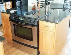 Creative kitchen islands stove top makeover ideas (27)