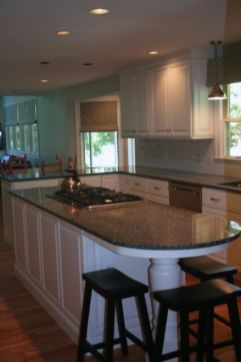 Creative kitchen islands stove top makeover ideas (28)
