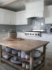 Creative kitchen islands stove top makeover ideas (31)