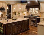 Creative kitchen islands stove top makeover ideas (33)