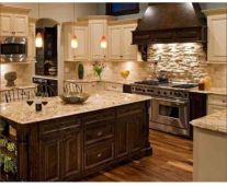 Creative kitchen islands stove top makeover ideas (33)