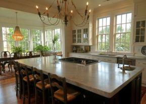 Creative kitchen islands stove top makeover ideas (38)