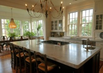 Creative kitchen islands stove top makeover ideas (38)