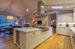 Creative kitchen islands stove top makeover ideas (4)