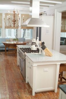 Creative kitchen islands stove top makeover ideas (44)