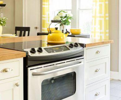 Creative kitchen islands stove top makeover ideas (47)