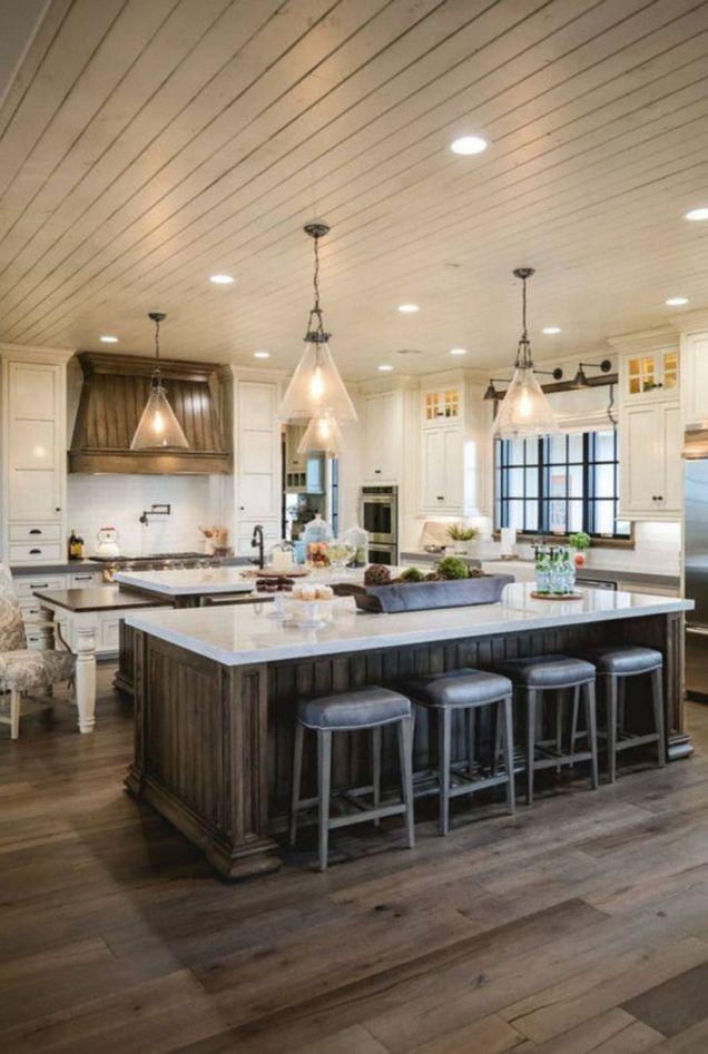 Creative kitchen islands stove top makeover ideas (48)